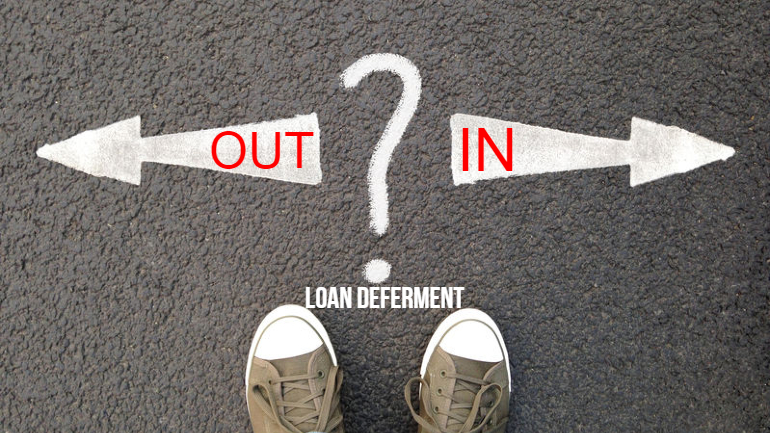 Should you opt in or out of the Loan Deferment Programme?