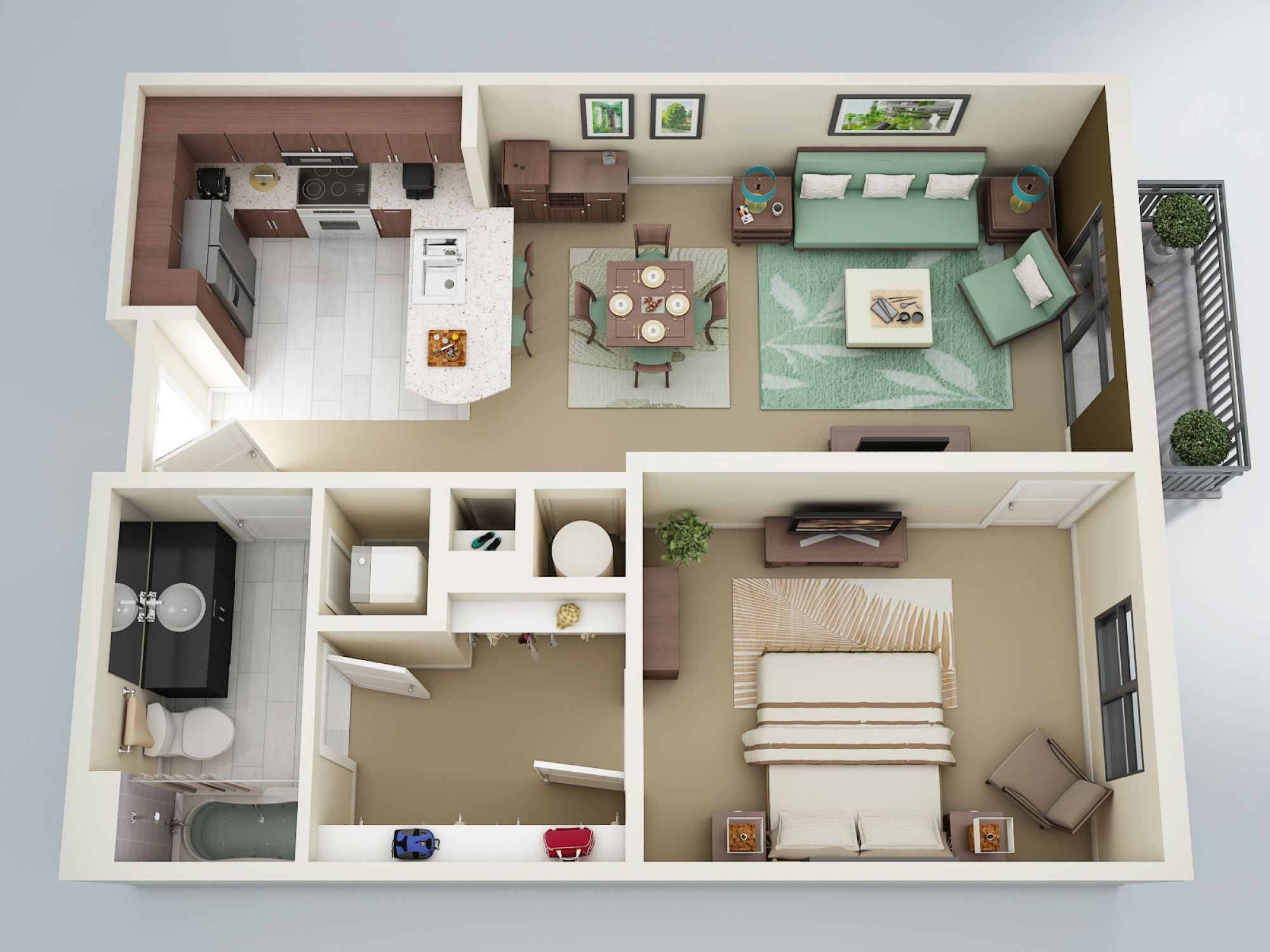 15 Referensi Pilihan Denah Rumah Minimalis