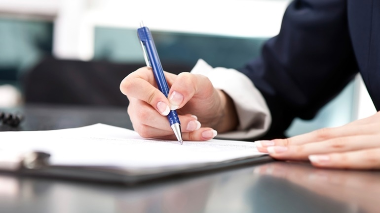 An individual signing an Option to Purchase agreement