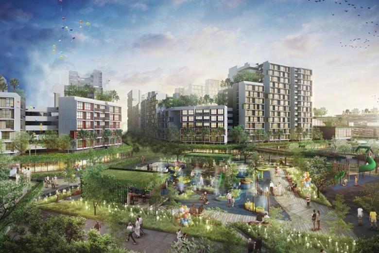 May 2020 Tengah BTO Flats