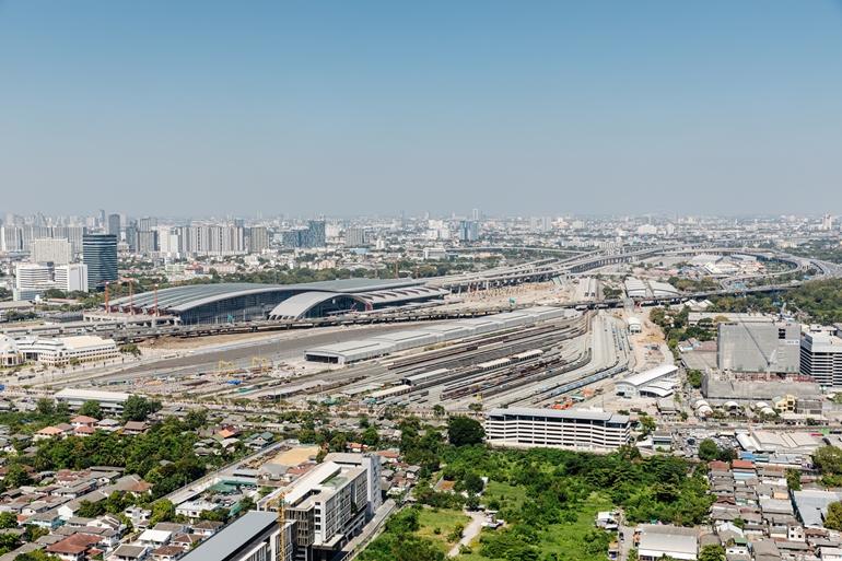 สถานีกลางบางซื่อ ระบบรถไฟใหม่ศูนย์กลางคมนาคมใหญ่ระดับอาเซียน