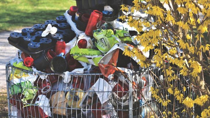 Tidak semua barang bekas bisa di daur ulang (Foto: Pixabay)
