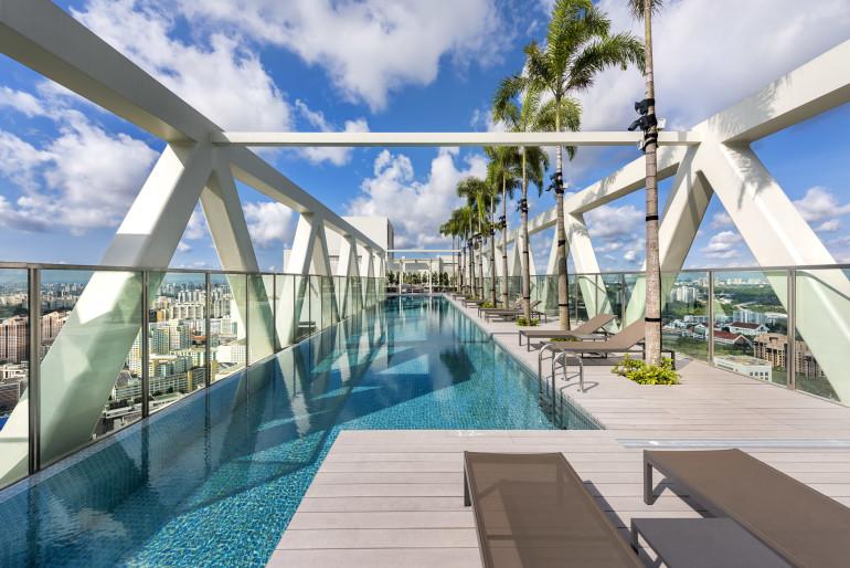 best condo pools singapore