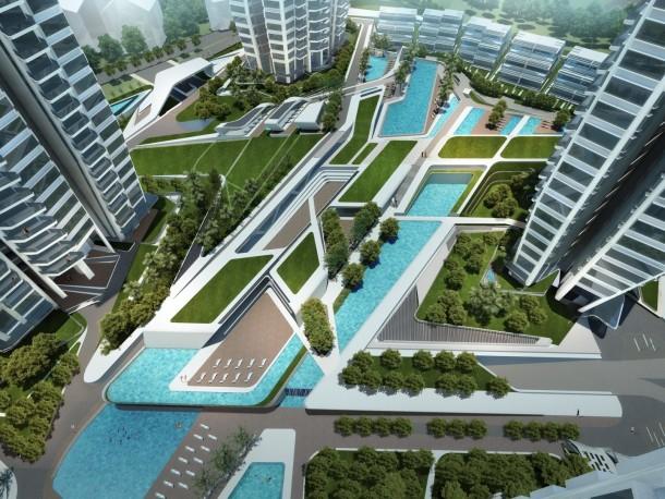 D'Leedon best condo swimming pools singapore