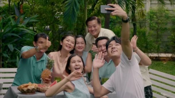 Selfie Family Photo