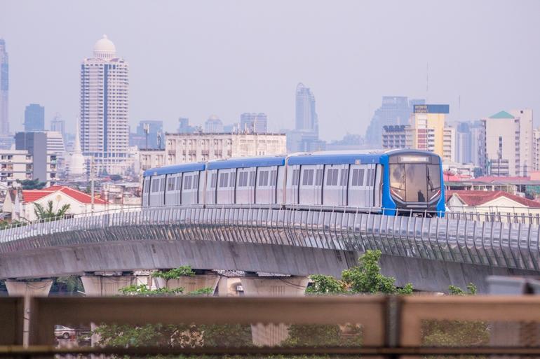 จับตาบ้าน-คอนโดแนวรถไฟฟ้า MRT สายสีน้ำเงิน น่าซื้อ-ลงทุน