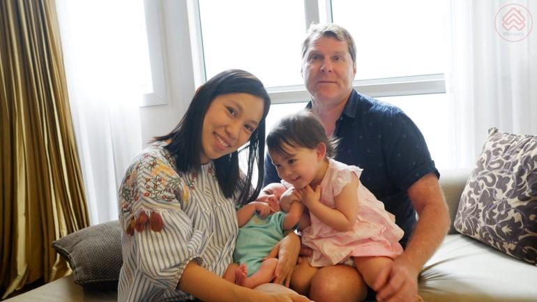 คู่แต่งงานไทย-อเมริกา กับบ้านที่ใช่
