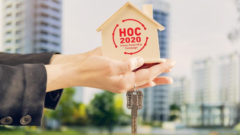 Kempen Pemilikan Rumah, hoc, rumah mampu milik, perumahan, perumahan mampu milik, hoc 2019