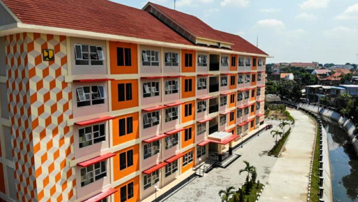 Penghuni rumah vertikal seperti rusun dan apartemen memiliki jenis sertifikat yang berbeda dengan pemilik hunian konvensional. (Sumber: perumahan.pu.id)