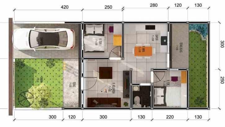 54+ dapur minimalis rumah type 21 - Dapur Minimalis 2021