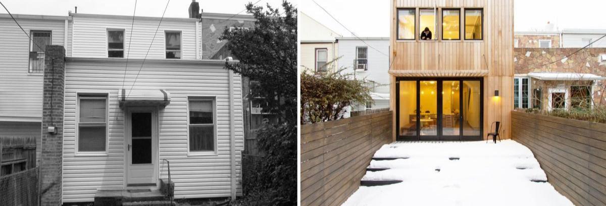 Rumah yang berukuran kecil bisa Anda renovasi untuk memaksimalkan fungsi dan tanah yang Anda miliki. (Foto: Homedit)