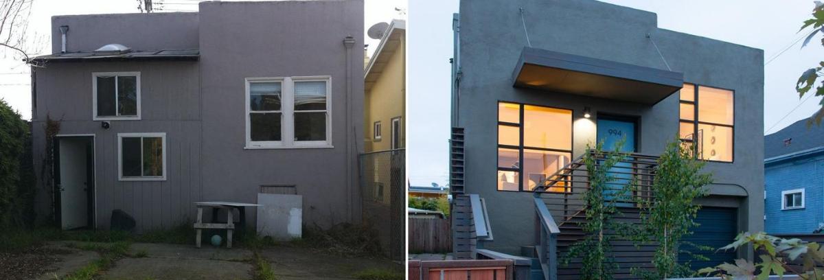 Tembok semen yang tidak di cat bisa membuat rumah Anda memiliki efek rustic yang sangat menarik. (Foto: Homedit)