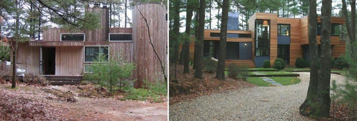 Caption: Rumah kayu membutuhkan proses renovasi yang lebih panjang dan biaya yang mahal. (Foto: Homedit)
