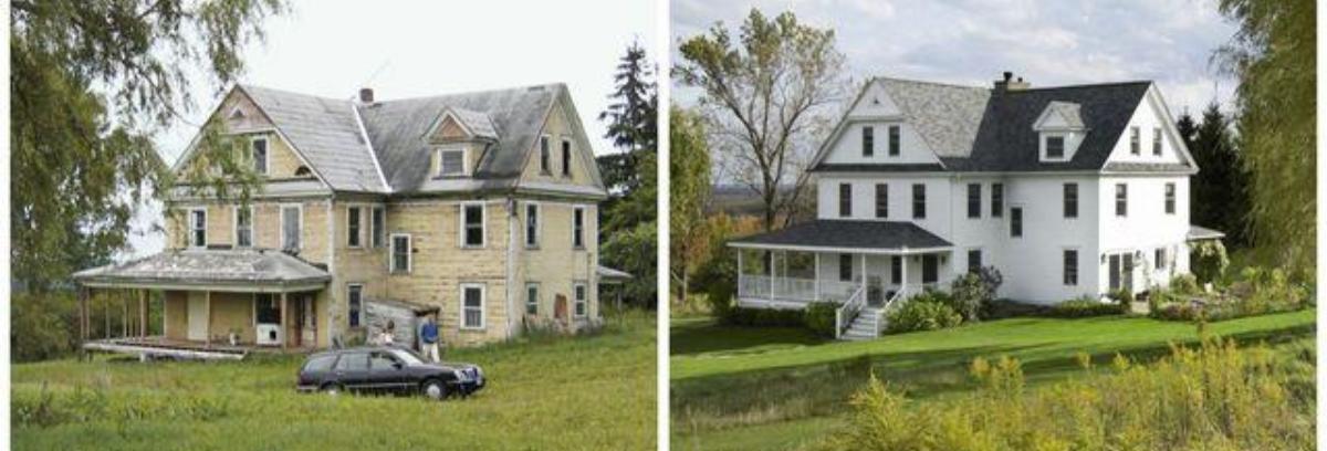 Rumah tua masih bisa Anda renovasi untuk bisa terlihat segar dan menarik. (Foto: Country Living)