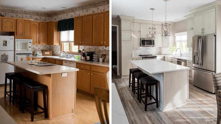 Dapur adalah salah satu bagian rumah yang perlu Anda renovasi untuk menciptakan kesan mewah pada rumah. (Foto: Everything Home Design)