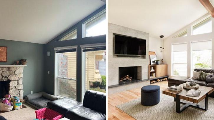 Warna cerah pada sebuah ruangan bisa menciptakan efek mewah dan membuat ruangan menjadi terasa luas. (Foto: Contemporist)