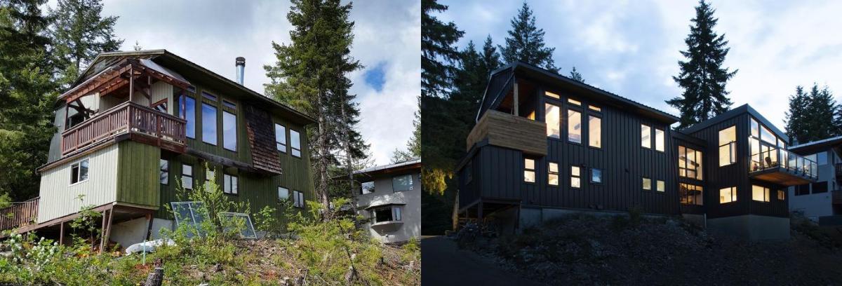 Drifter Way Canada adalah rumah yang memanfaatkan tepian bukit untuk bisa mendapatkan pemandangan yang bagus. (Foto: Homedit)