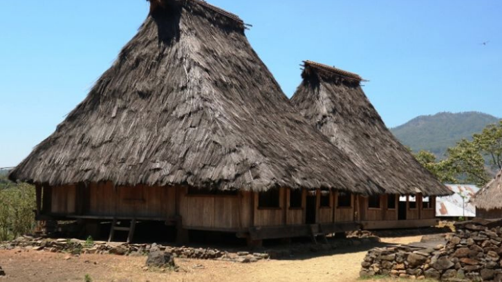 Salah satu rumah adat yang memiliki jenis-jenis berbeda adalah rumah adat NTT. (Foto: Travel Kompas)