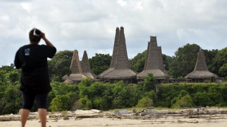 Setiap rumah adat dibangun berdasarkan sebuah filosofi yang ada sejak turun-temurun. (Foto: Republika)
