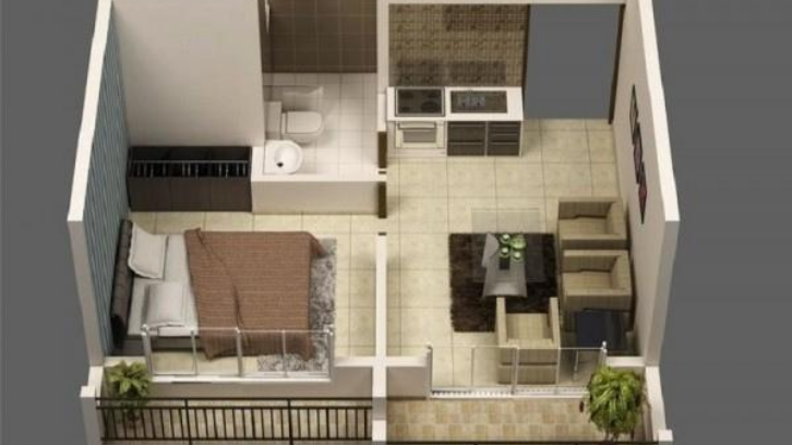 Rumah Tipe 21 merupakan rumah yang paling banyak dibeli. (Foto: IDN Times)