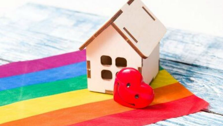 ming han couple rainbow house