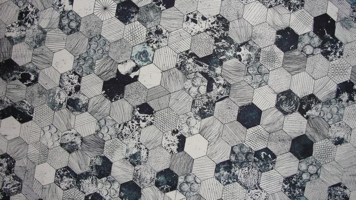 Pola keramik tertentu akan mempercantik ruangan. (Foto:Pexels)