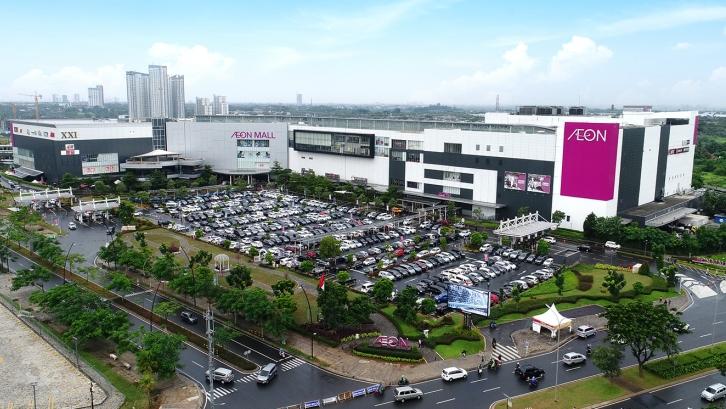 Caption: Salah satu kelebihan kota Tangerang Selatan adalah terdapat banyak pusat bisnis dan perbelanjaan. (Foto: Aeonmall-bsdcity.com)