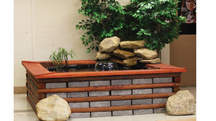 Lahan terbatas tidak menjadi halangan untuk membuat kolam ikan koi di rumah. (Sumber: Pexels.com)