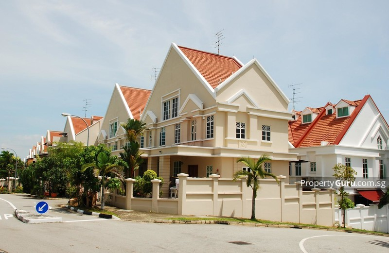 limau villas terrace house for sale in east coast