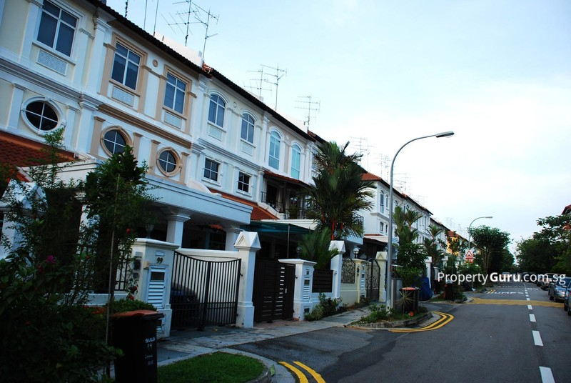 loyang villas terrace house for sale in changi