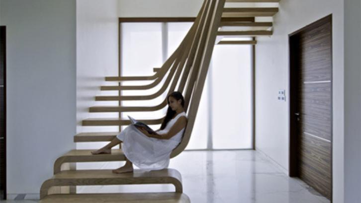 15 Model Tangga Rumah Minimalis, Modern, Terpopuler 13