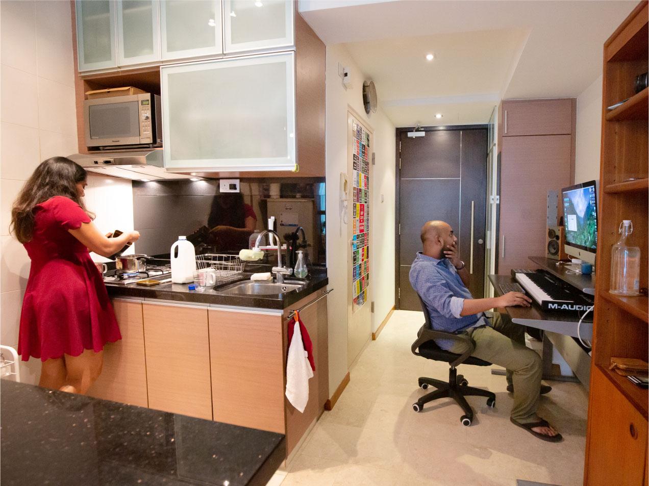 pravin and rosmin studio apartment on mackenzie road