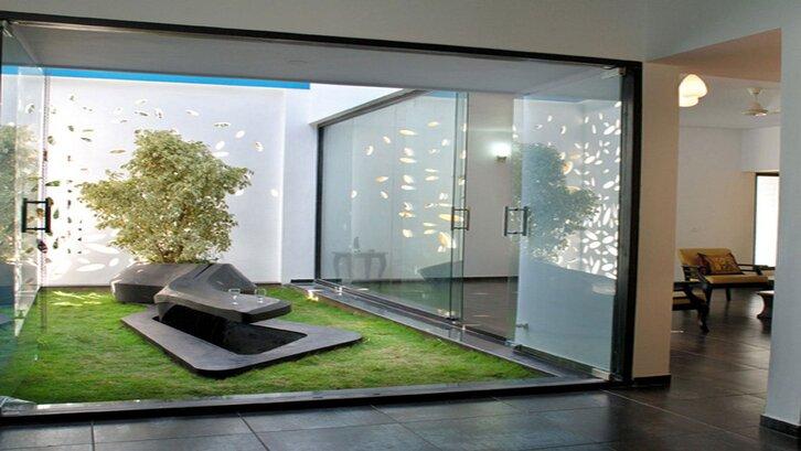 Taman modern (foto: http://www.dhoumm.co/)