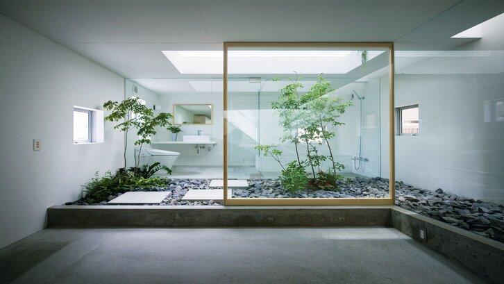 Taman urban sebagai pilihan taman dalam rumah Anda. (foto: http://getsdecorating.blogspot.com/)