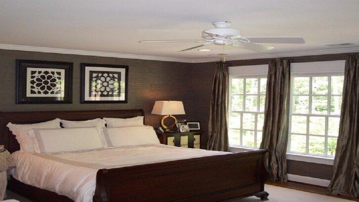 Contoh desain kamar tidur ying yang karya Richmond (sumber: houzz.com)
