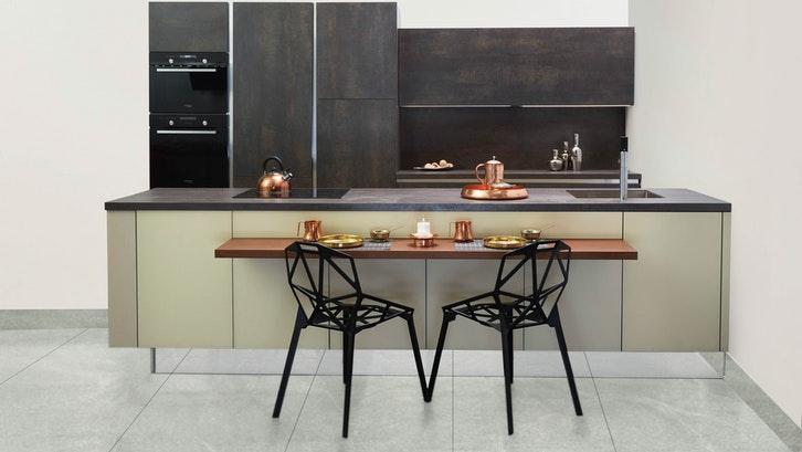 Desain seimbang di dapur. (Foto:Pexels)