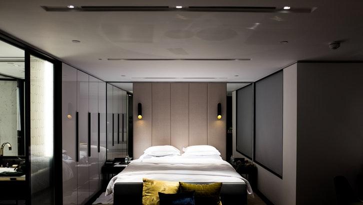 Energi yin cocok untuk kamar tidur. (Foto:Pexels)