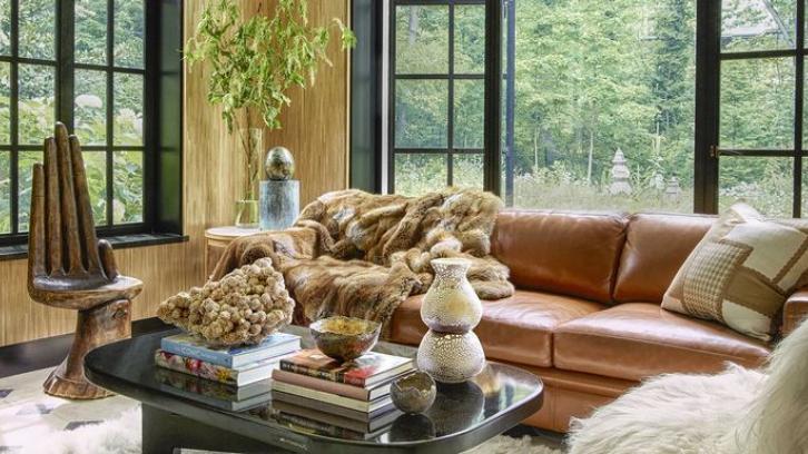 Hadirkan suasana natural pada ruangan agar bisa tampak menyatu dengan Alam. (Foto: Elle Decor)