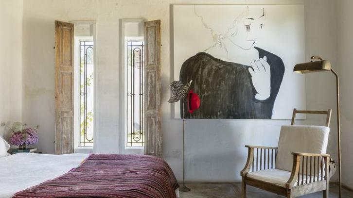 Hindari bosan! Buatlah kamar tidur Anda dengan gaya bohemian yang menenangkan. (Foto: Elle Decor)