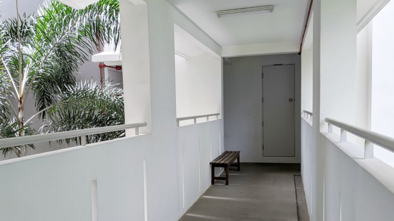 hdb riser corridor common areas