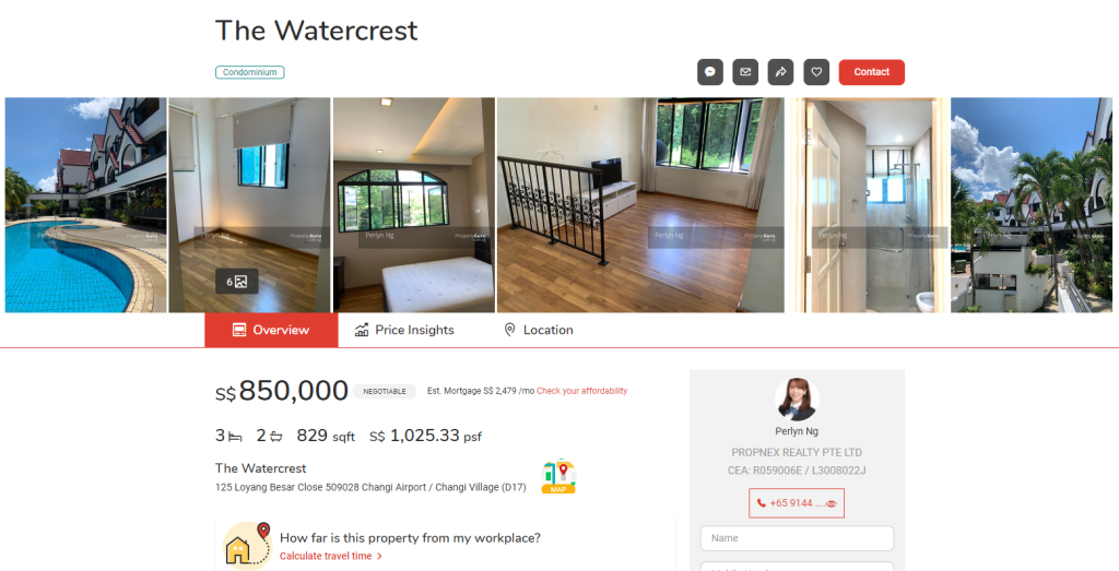 the watercrest condo singapore