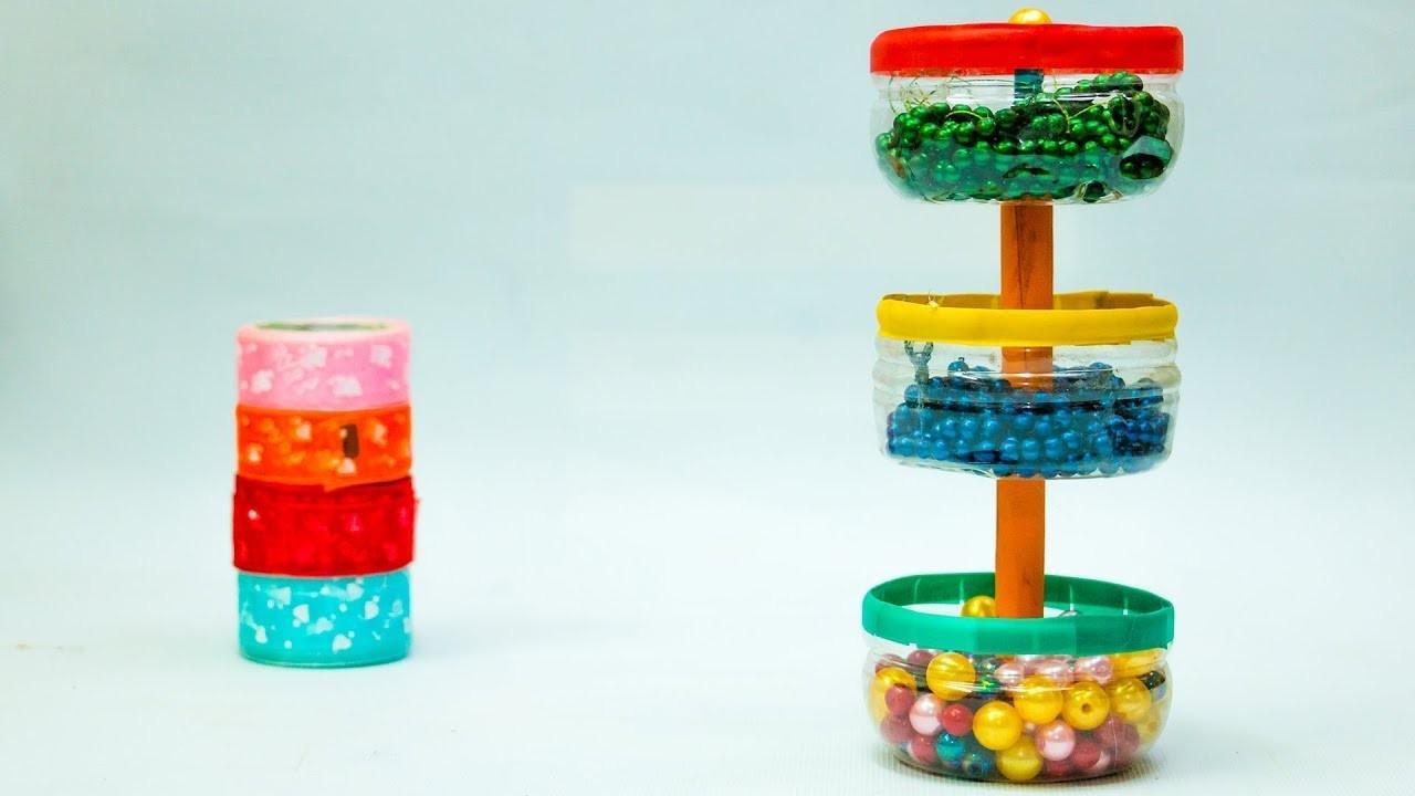 Mainan anak bisa dibuat dari kerajinan botol plastik. Sumber: decoratorist.com
