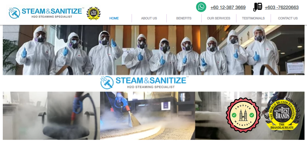 Steam & Sanitize screenshot