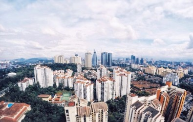 56641571 - malaysia properties apartment cityscape