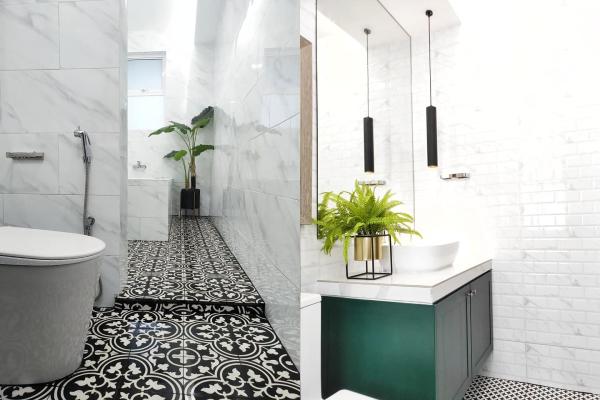 bilik mandi, bilik mandi terkini