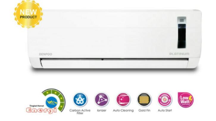 Denpoo memiliki popularitas yang baik dengan pilihan produk pendingin udaranya. (Foto: Lazada Indonesia)