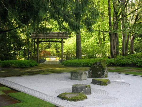 Kesemulajadian, keringkasan dan kecekinan jadi matlamat Taman Zen.