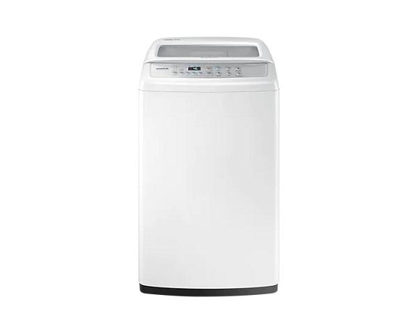 Mesin cuci yang punya teknologi Wobble. Meminimalkan gesekan pada cucian, menjaga tekstur kain. (Foto: Samsung.com)