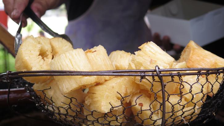Singkong bisa diolah menjadi sesuatu yang menguntungkan. (Foto: Ubud Food Festival)