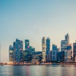 unsplash marina singapore skyline